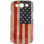 LightInTheBox USA Flag Pattern Hard Case for Samsung Galaxy S3 I9300 (Multi-Color)