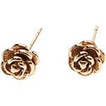 LightInTheBox Stereo Rose Metal Stud Earrings
