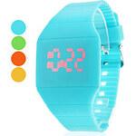 LightInTheBox Unisex Rubber Digital LED Wrist Watch (Assorted Colors)