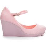 VICES Krásné růžové dámské lodičky - S8P /S2-64P