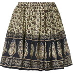 Topshop **Border Print Flippy Skirt By Wild Past