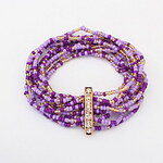 LightInTheBox Bohemia Multilayer Beads Rhinestone Women's Bracelet(More Colors)