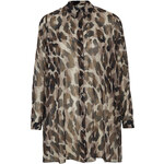 Topshop **Printed Long Shirt by Love