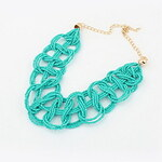 LightInTheBox Bohemian Style Alloy With Beads Windbreakers' Necklace(More Colors)
