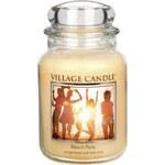 Svíčka ve skle Beach party - velká