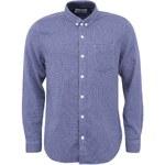 Modrá košile s bílým vzorem Shine Original
