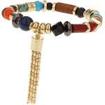 Topshop Mix Bead Tassel Bracelet