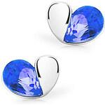 LightInTheBox CPSJ Elegant Austrian Crystal Heart Shape Stud(Royal Blue)
