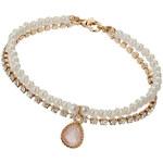 Topshop Pearl Facet Bracelet