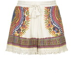 Topshop Tassel Printed Shorts by Band of Gypsies