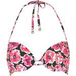 Topshop Poppy Print Plunge Bikini Top