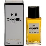 Chanel No.5 toaletní voda pro ženy 50 ml bez rozprašovače