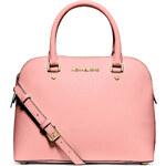 Michael Kors kabelka Cindy medium dome satchel pink