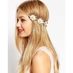 ASOS - Haarreif mit Blumen- und Kettendesign