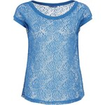 Terranova T-shirt with lace half sleeves