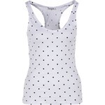 Terranova Polka dot racer back top