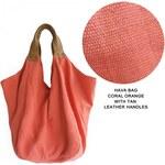 Aura Que AuraQue maxi plátěná taška přes rameno