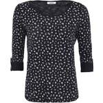 Černé květované 3/4 tričko ONLY Jess