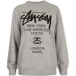 Topshop World Tour Sweat By Stussy