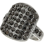 Topshop Jewelled Square Ring