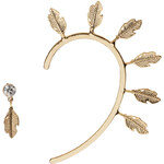 Topshop **Statment Feather Ear Cuff by Orelia