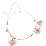 Topshop **Charm and Flower Hair Torque by Orelia