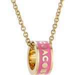 Marc by Marc Jacobs Logo Donut Necklace