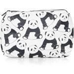 Topshop Panda Print Make-Up Bag