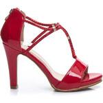 VIA GIULIA Sandálky na podpatku 11-725RO / R15B