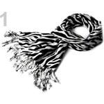Stoklasa Šála PASHMINA 70x180cm zvířecí vzory (1 ks) - 1 viz foto