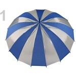 Dámský průhledný vystřelovací deštník (1 ks) - 1 Campanula Stoklasa