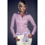 Košile M021 fialová - fialová - XXL Figl