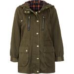 Topshop Hooded Lightweight Jacket