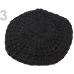 Stoklasa Pletený baret (1 ks) - 3 Black