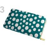 Dámská peněženka 10,5x20,5cm lesklá 710604 (1 ks) - 3 tyrkys zel. Stoklasa