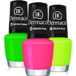 Dermacol Neonový lak na nehty 5 ml 10 Neon Green