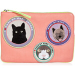 Marc by Marc Jacobs Leather Patch Pouch
