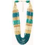 Forever 21 Eclectic Beaded Necklace