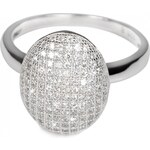 Pattic Stříbrný prsten s krystaly ITS3358001 57 mm