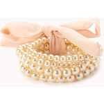 Forever 21 Iconic Faux Pearl Bracelet Set