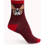 Forever 21 Professor Bulldog Crew Socks