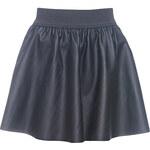 Terranova Faux leather flared skirt