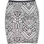 Terranova Aztec patterned skirt