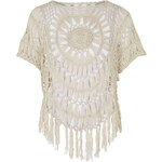 Topshop **Crochet Knit Top by Glamorous