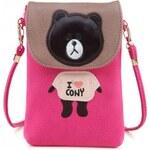 Dámská kabelka Teddy 34662 růžová