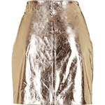 Topshop **Dreams Metallic Leather Skirt Another 8