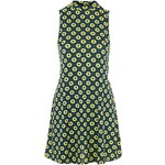 Topshop Scandi Flower Print Tunic Dress