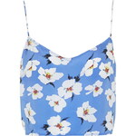Topshop Takashi Floral Print Crop Top by Boutique