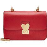 Valentino LAmour Leather Shoulder Bag