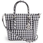 Guess Kabelka Delaney Gingham Mini-Tote